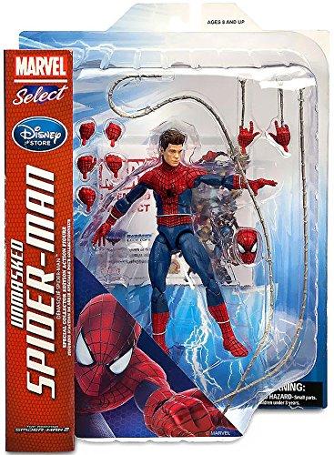 Unmasked Spiderman Action Figure