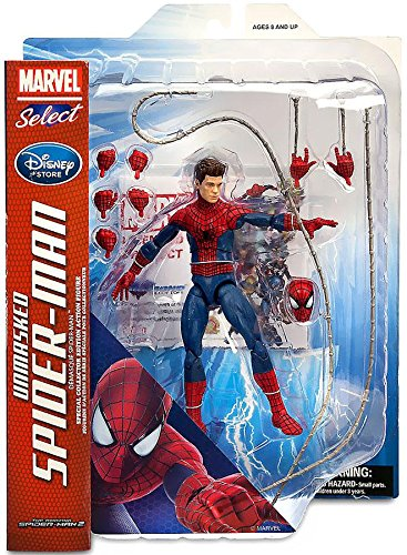 Unmasked Spiderman Action Figure