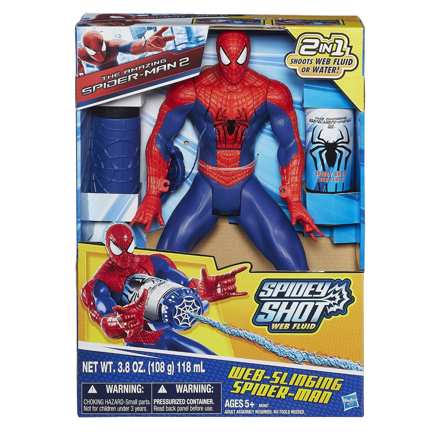 Web-Slinging Spider-Man Figure