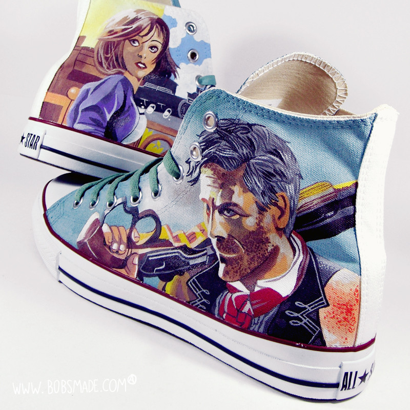 BioShock Infinite Shoes by Bobsmade