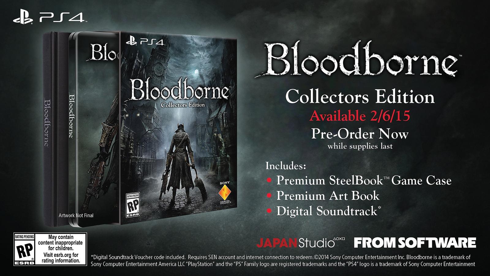 Bloodborne Collector's Edition (US)