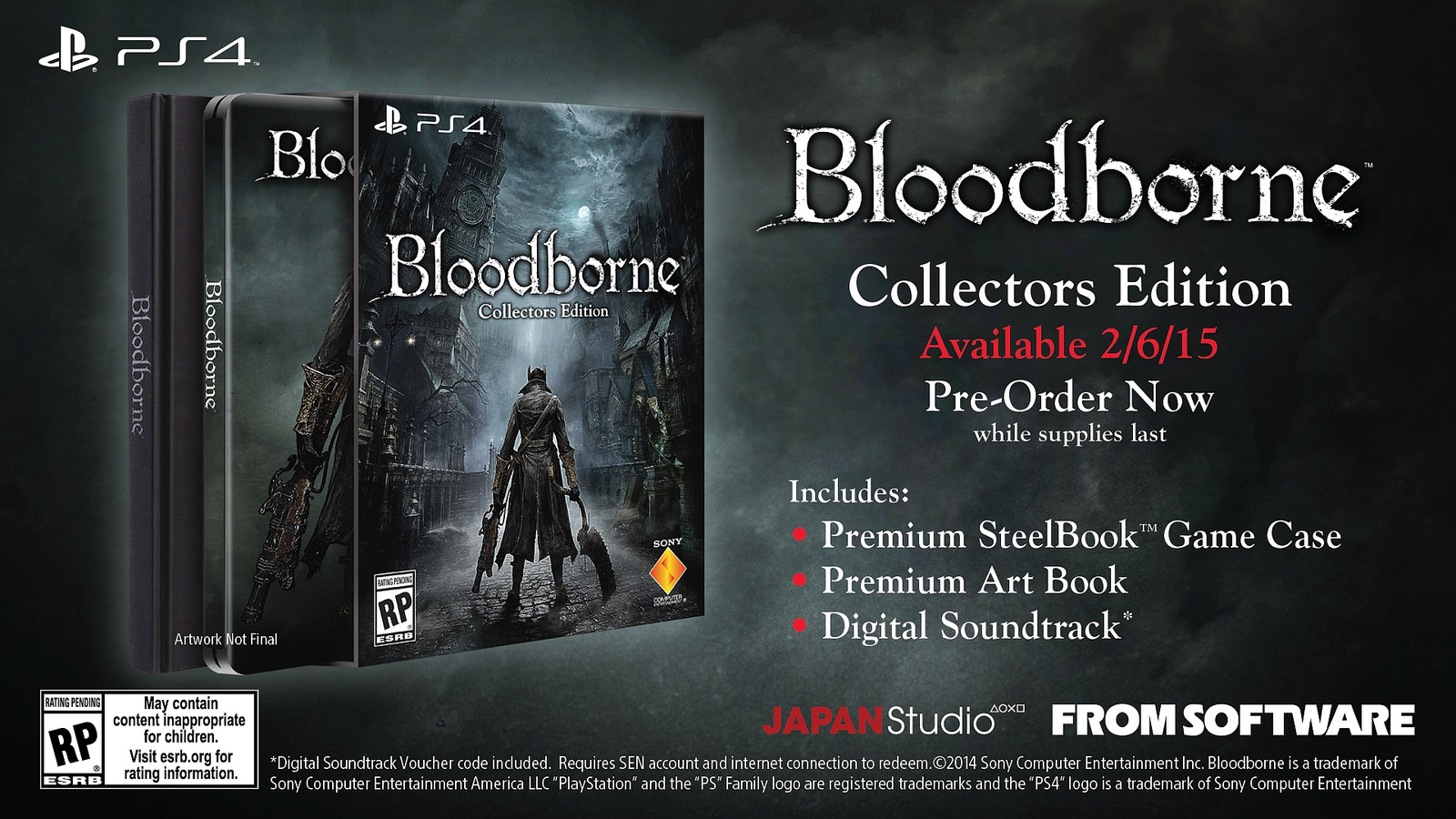 Bloodborne Collector's Edition (US)