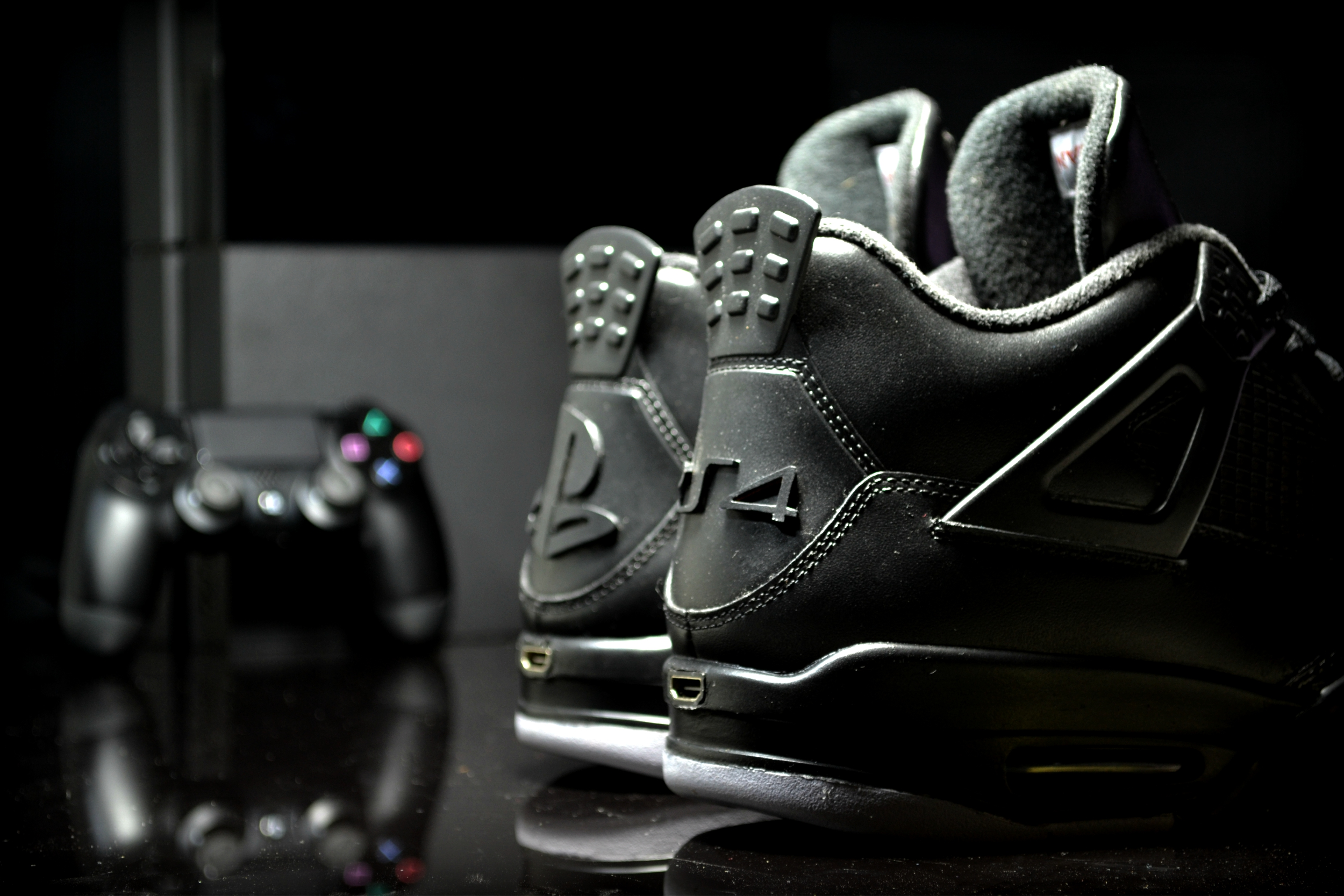 Custom PS4 Air Jordan Sneakers