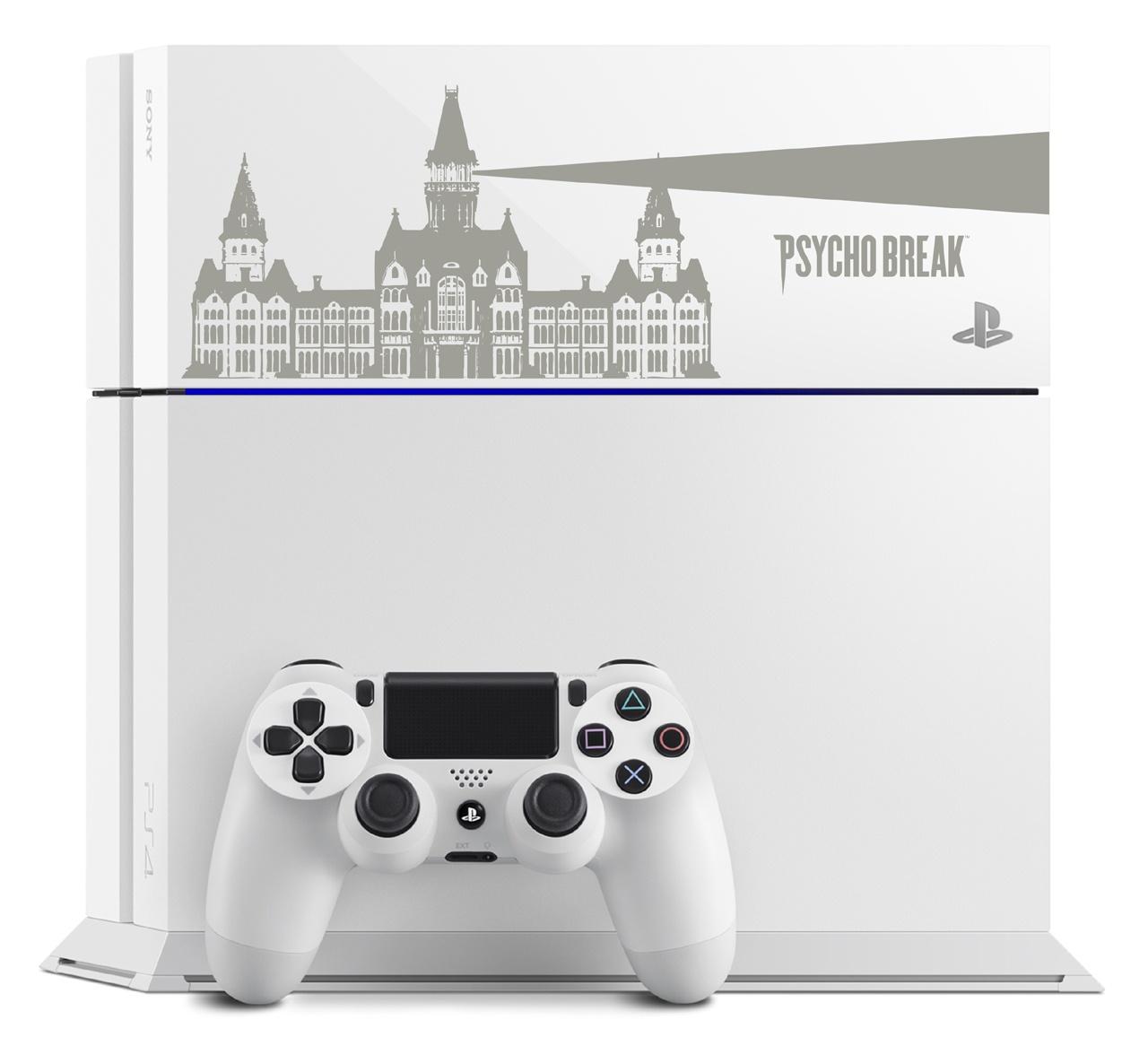 Custom Psycho Break PS4 console