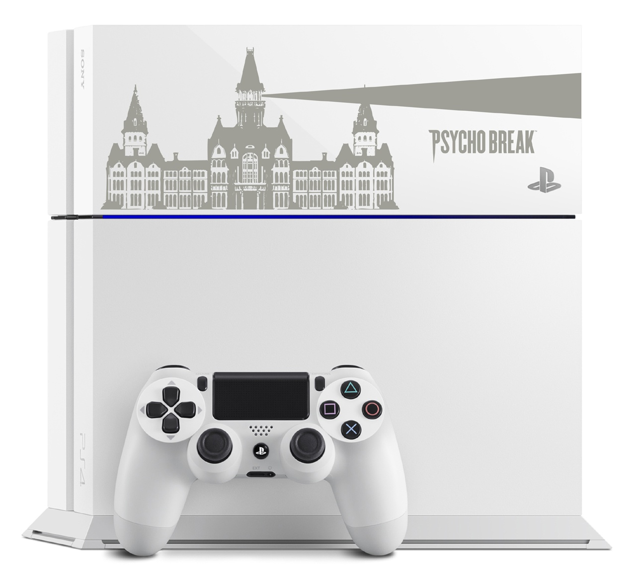 Custom Psycho Break PS4 console