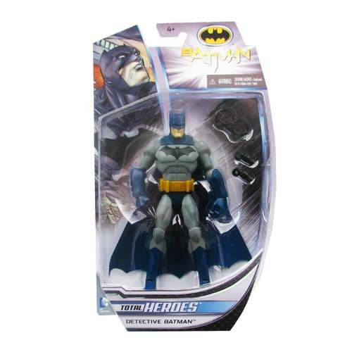 "DC Comics Total Heroes Detective Batman 6"" Action Figure"