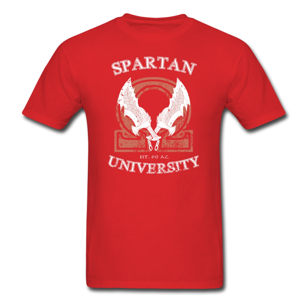 Spartan University God of War T-shirt