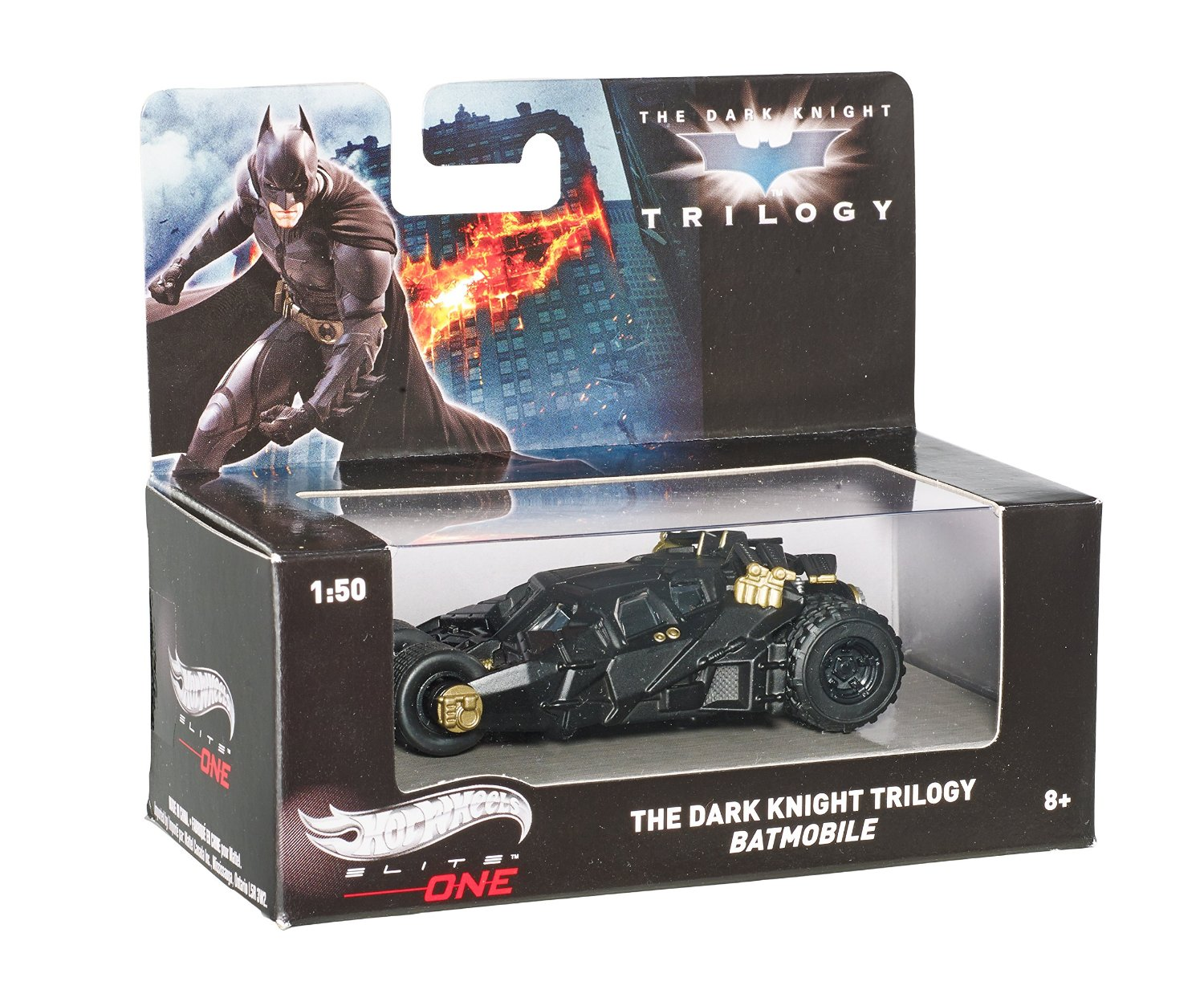 Hot Wheels Elite One The Dark Knight Trilogy Batmobile