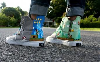 Super Mario Bros. Shoes