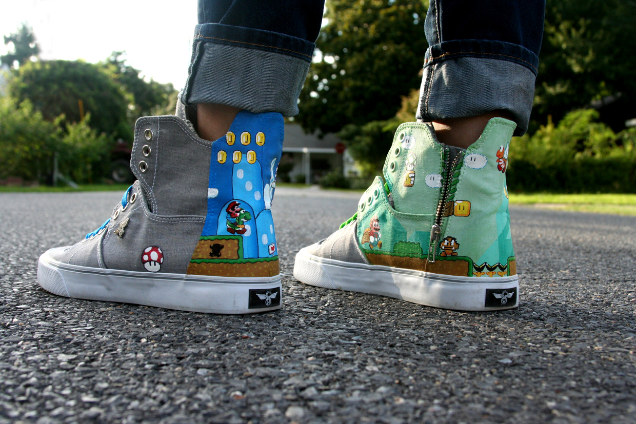 Super Mario Bros. Shoes