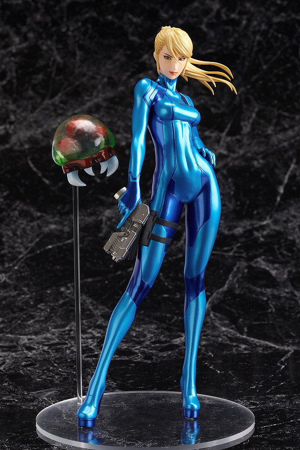 Samus Aran Metroid Prime figurine