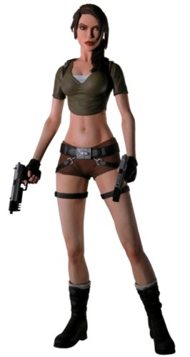 Tomb raider figurine