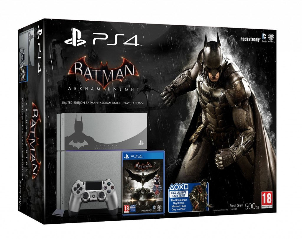 ps4 arkham knight bundle