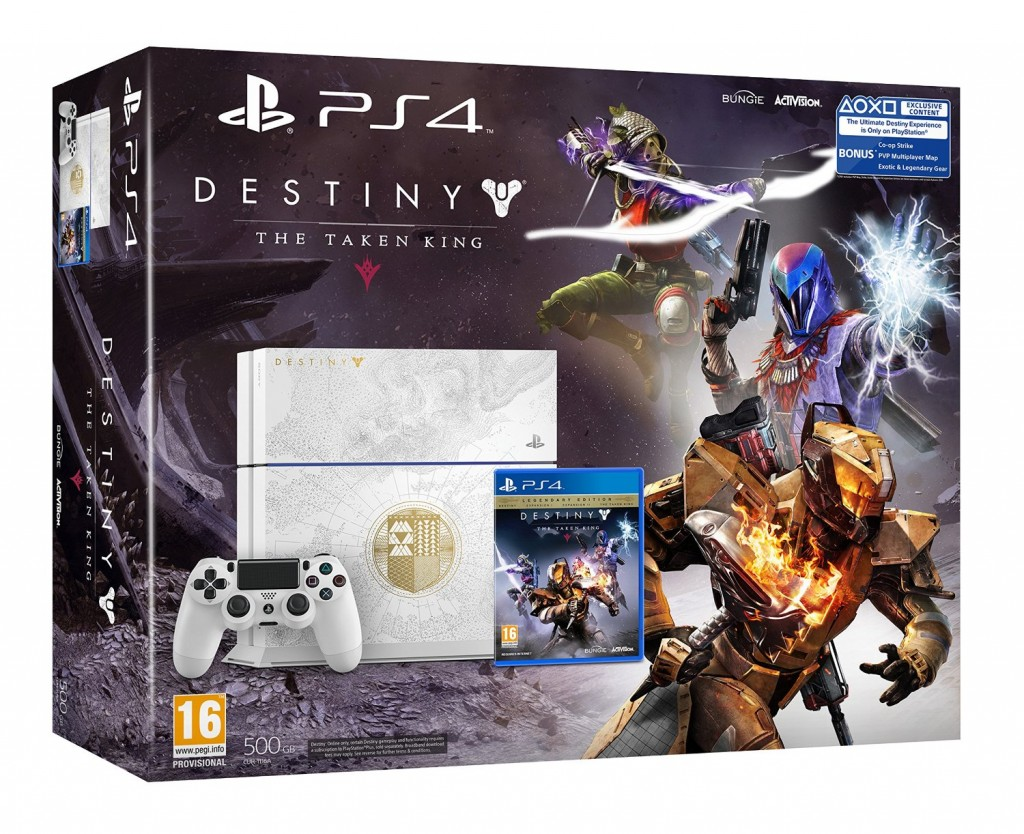 PS4 Destiny The Taken King Bundle