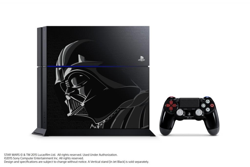 black limited edition star wars battlefront ps4 bundle