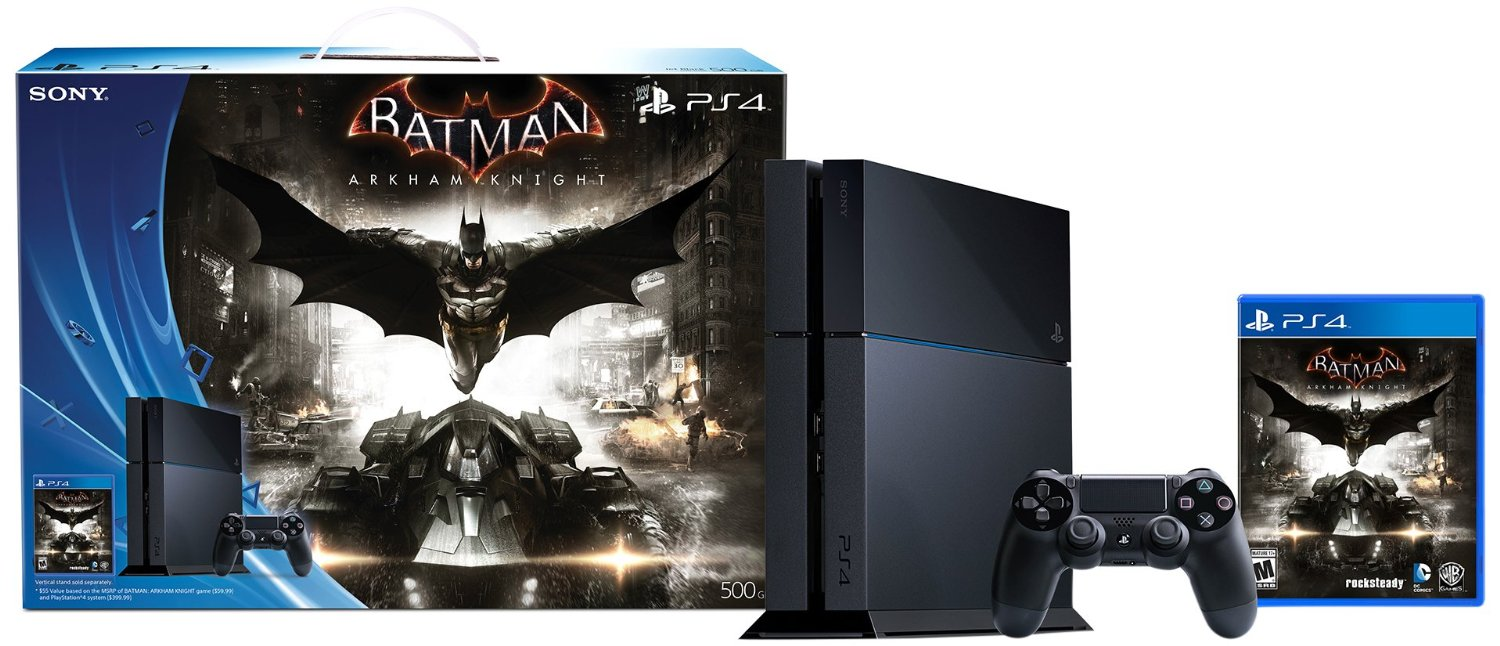 Batman: Arkham Knight PS4 Bundle