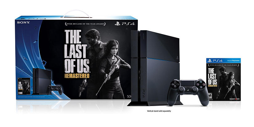 PS4 Bundle with The Last of Us Remastered Game