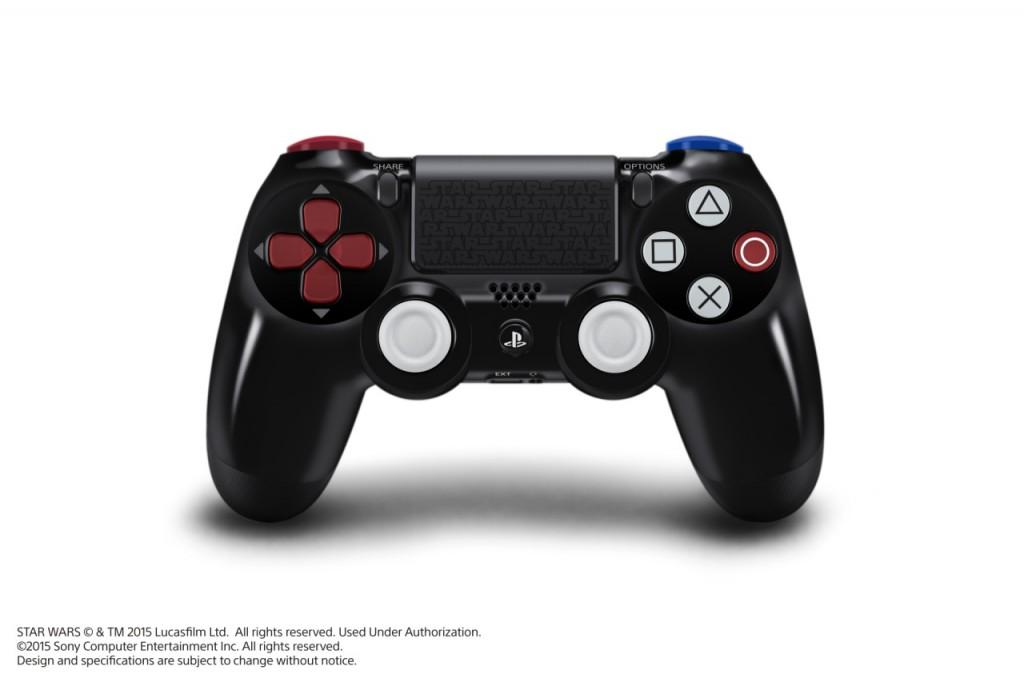 Black DualShock 4 PS4 controller for Star Wars Battlefront Bundle