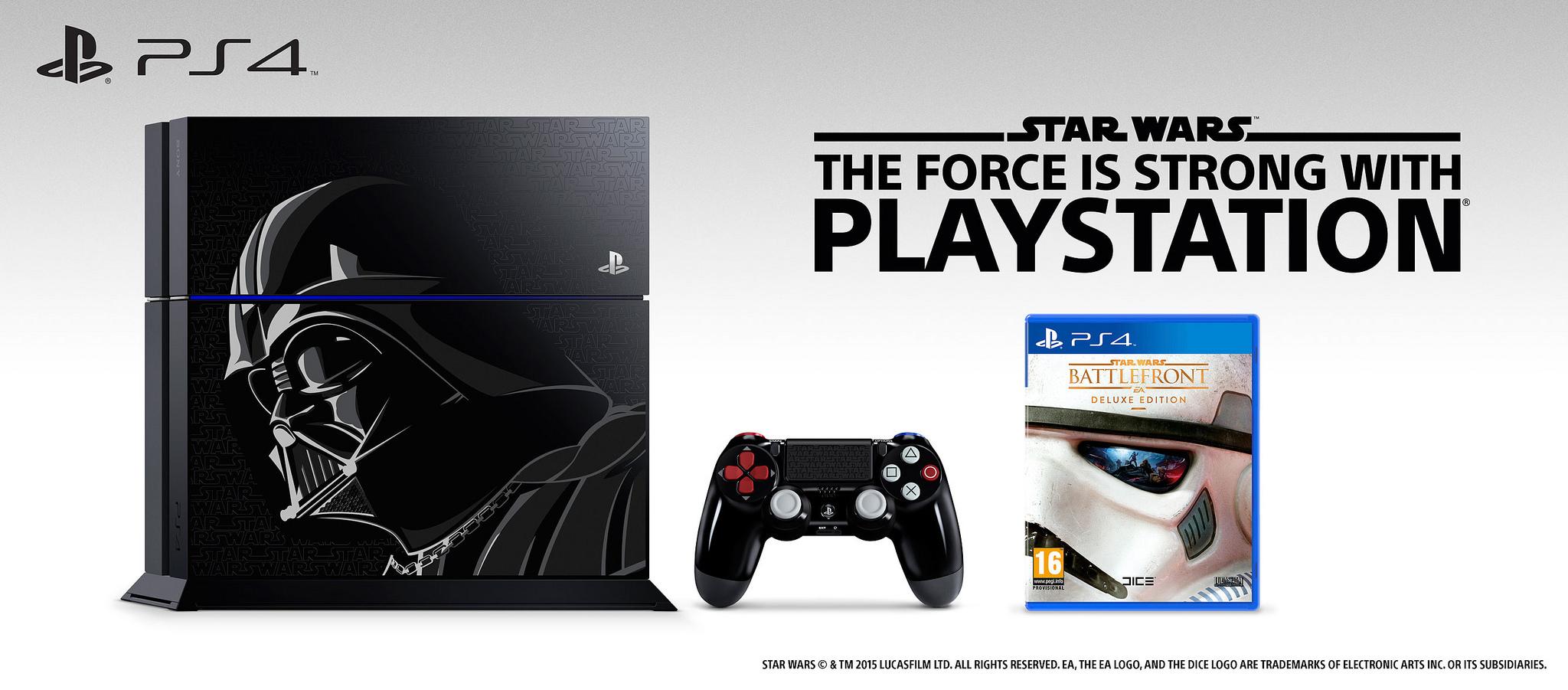Star Wars Battlefront PS4 Limited Edition Bundle Deal