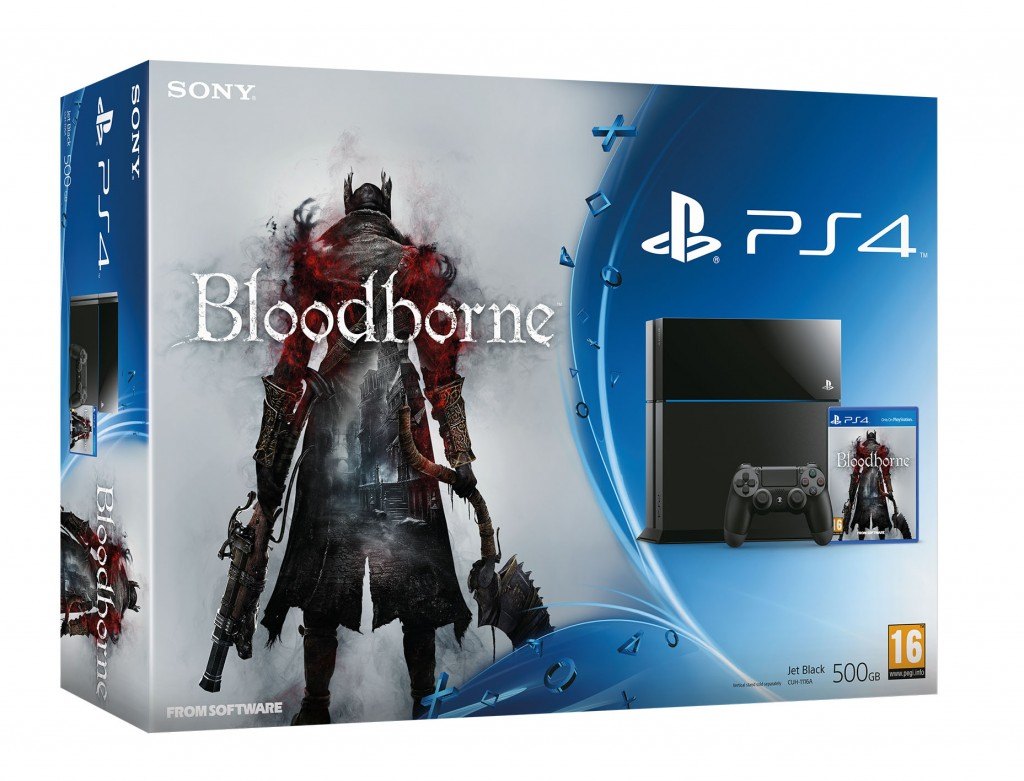 PlayStation 4 Bloodborne Bundle