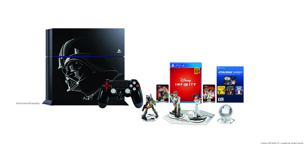 Limited Edition Disney Infinity 3.0: Star Wars PlayStation 4 Bundle