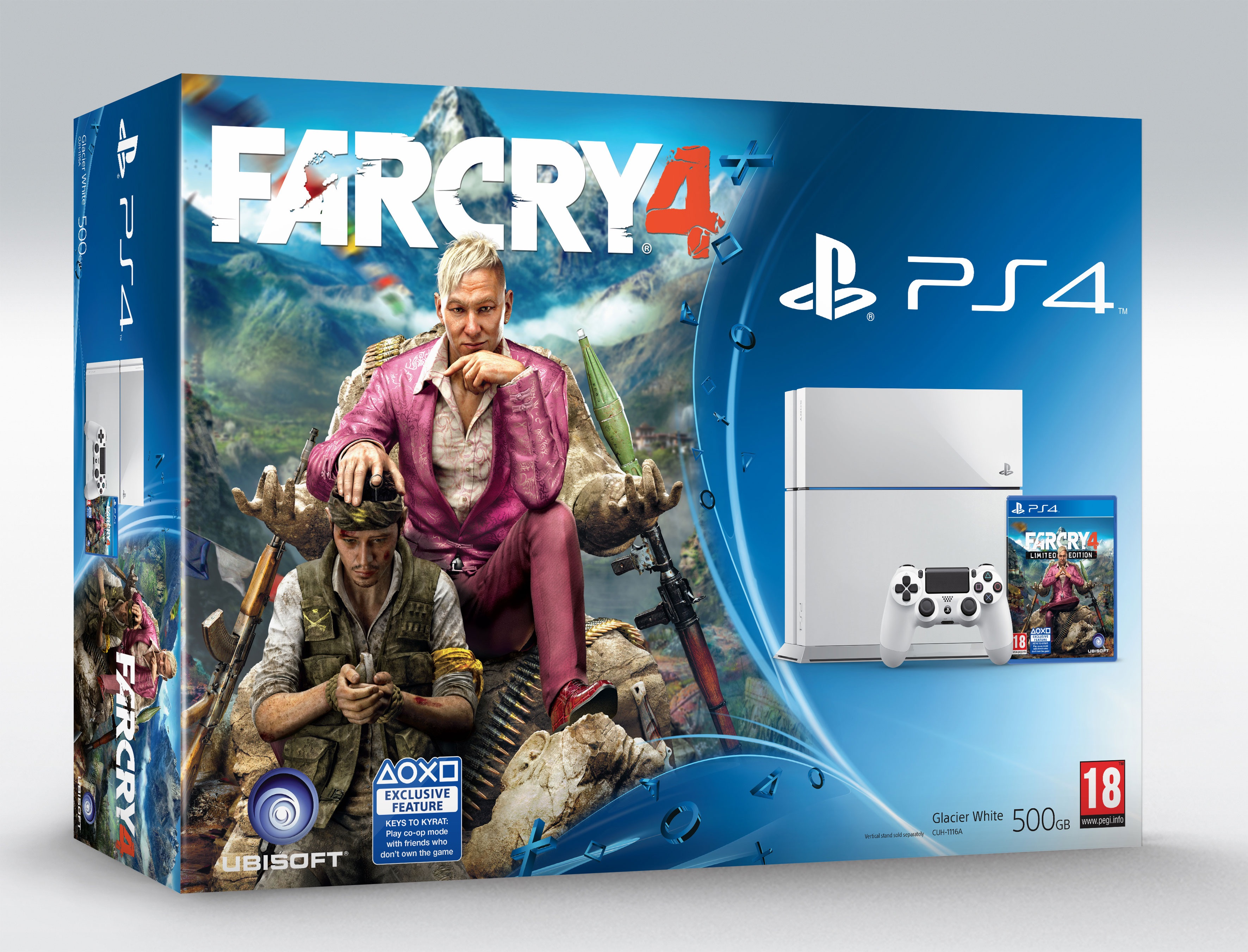 Far Cry 4 PlayStation 4 White Bundle