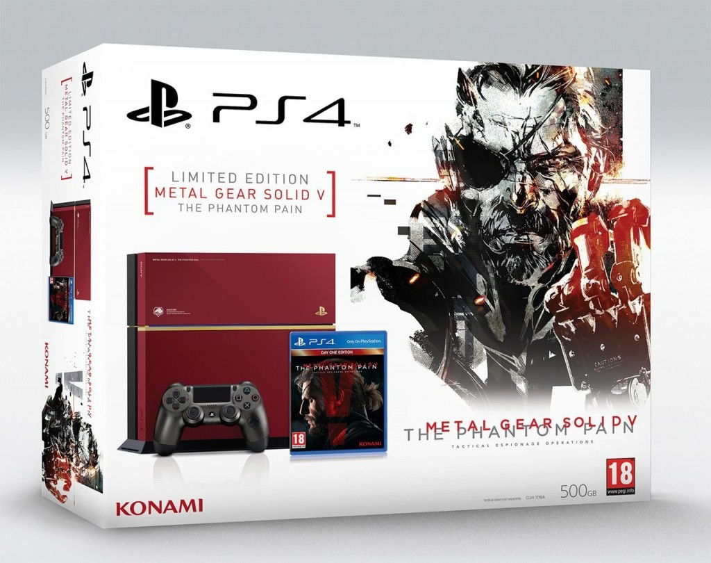 Metal Gear Solid V: The Phantom Pain PS4 Bundle