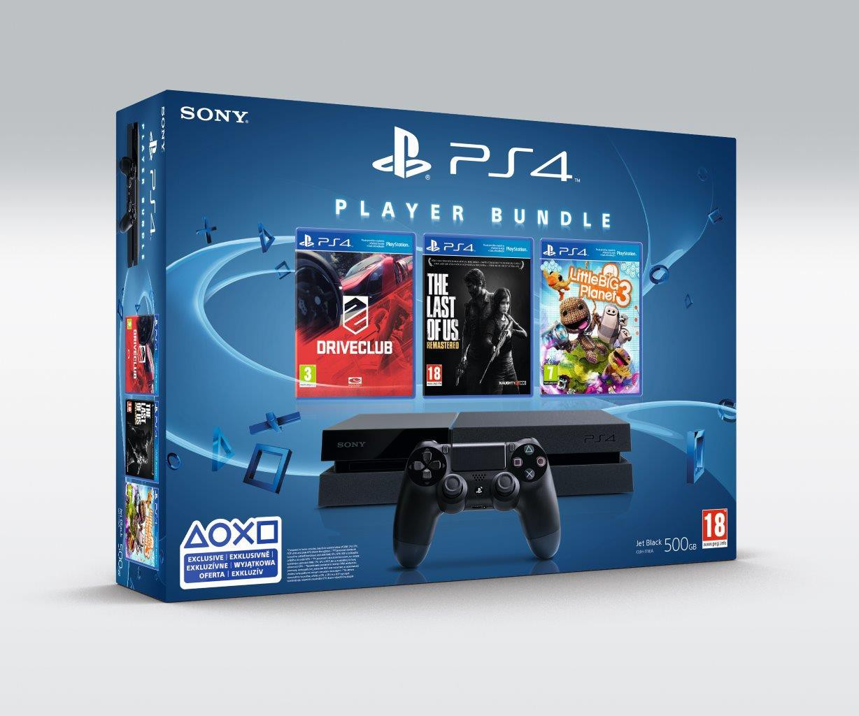 PlayStation 4 Player Bundle