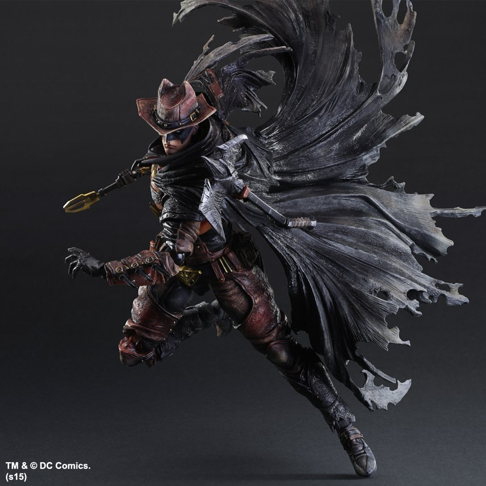 DC Comics Variant Play Arts Kai Batman: Timeless - Wild West Action Figure