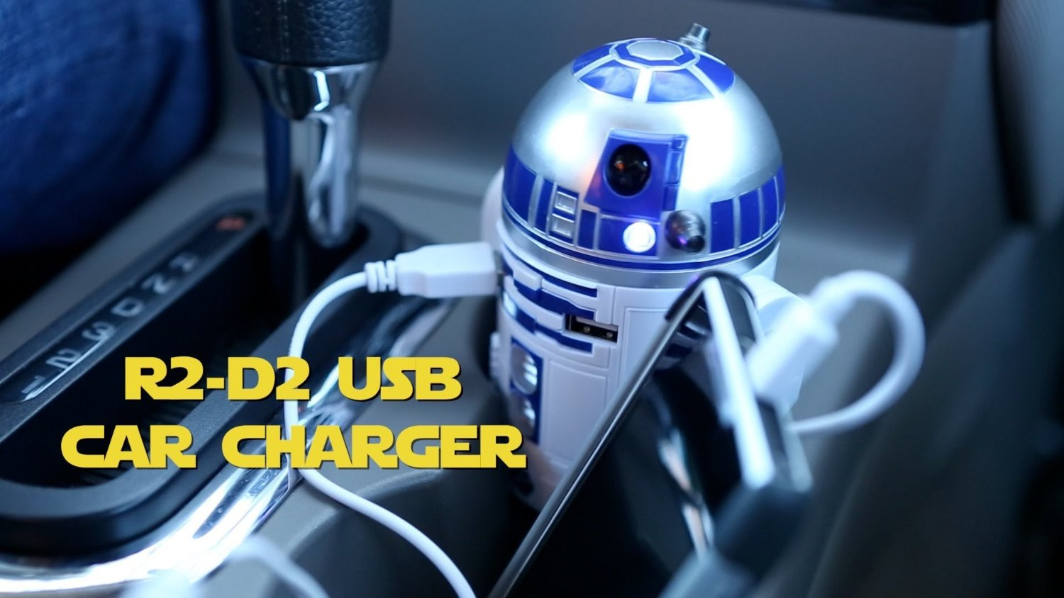 R2-D2 USB Car Charger Star Wars Gift Idea