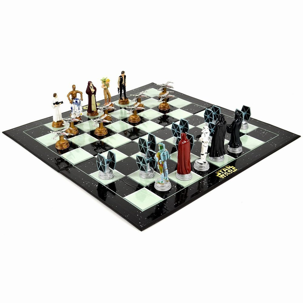 Chess with Star Wars Figures