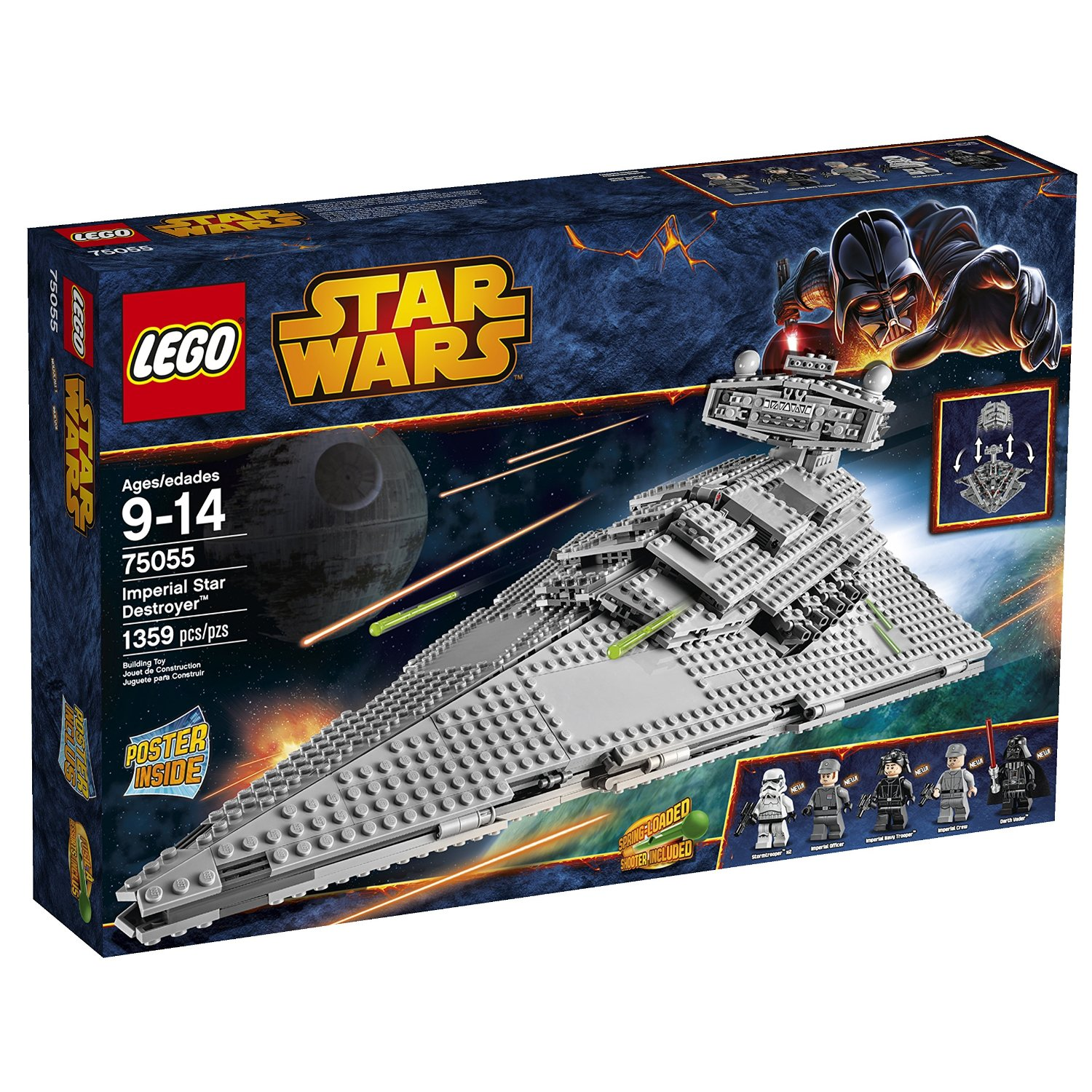 LEGO Imperial Star Destroyer Star Wars Gift