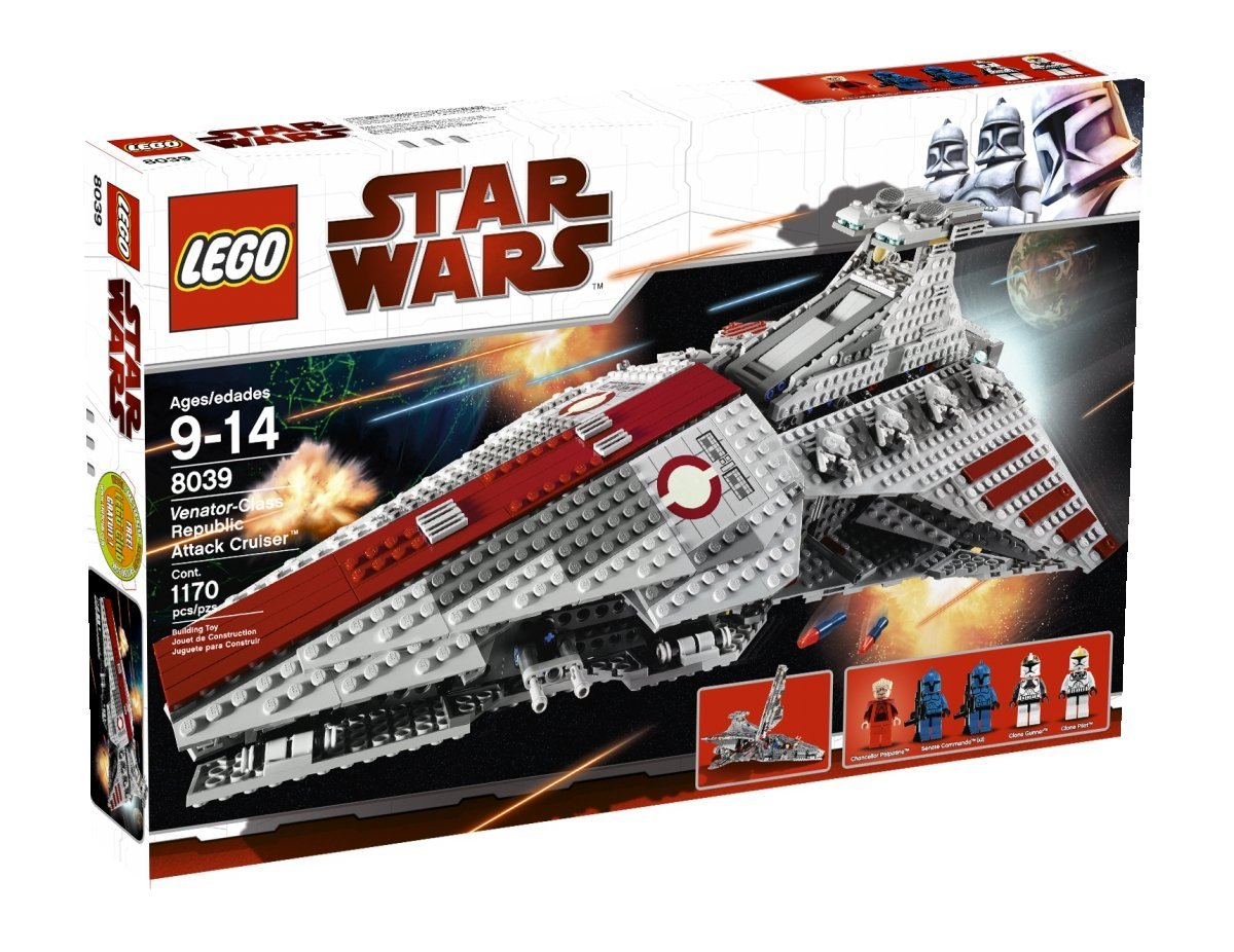 LEGO Republic Attack Cruiser