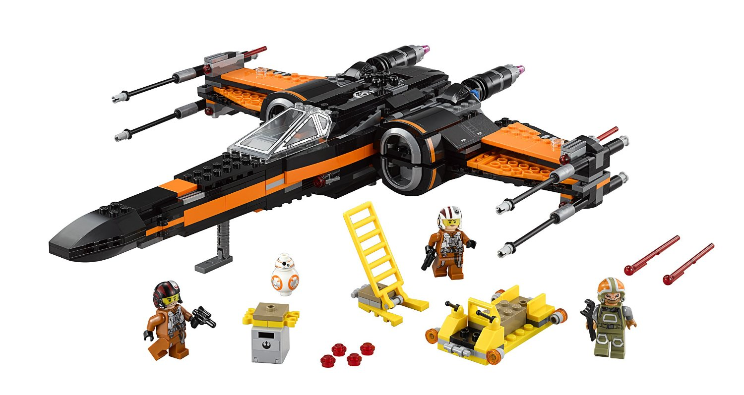LEGO Poe's X-Wing Fighter Star Wars Gift