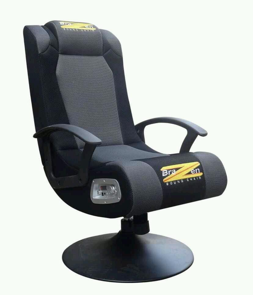 comfortable office chairs for gaming. brazen stag 2.1 surround sound gaming chair comfortable office chairs for e